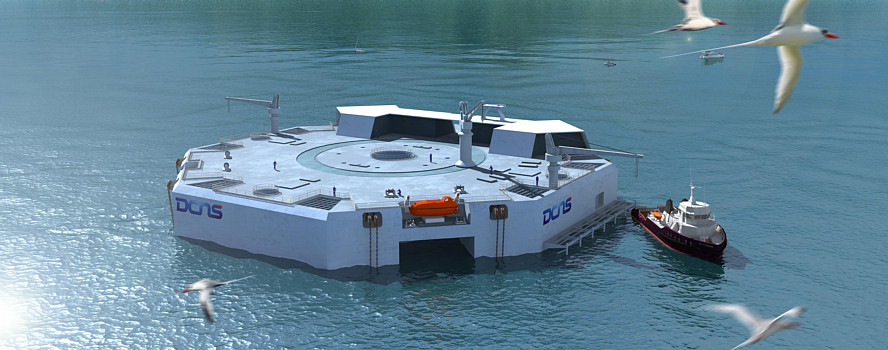 PROPOSED OTEC PLANT: DESIGN BY DCNS